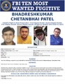 FBI Most Wanted Fugitive poster, Bhadreshkumar Chetanbhai Patel.pdf