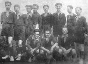 FK Obilić - First team of Obilić Belgrade in 1924