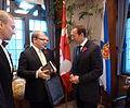 FM Urmas Paet meeting Canadian Minister of Defence Peter MacKay (5147413415).jpg