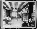 FRONT LEFT PARLOR - Edwin H. Abbot House, 1 Follen Street, Cambridge, Middlesex County, MA HABS MASS,9-CAMB,39-8.tif