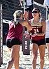 FSU sand volleyball inter-squad match, Feb 2014 (12258836645).jpg
