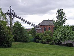 Albany, Tyne and Wear - The 'F' Pit museum in Albany