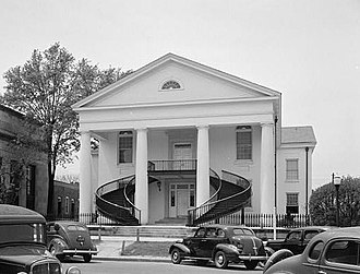 Winnsboro, South Carolina - The Fairfield County Courthouse in 1940
