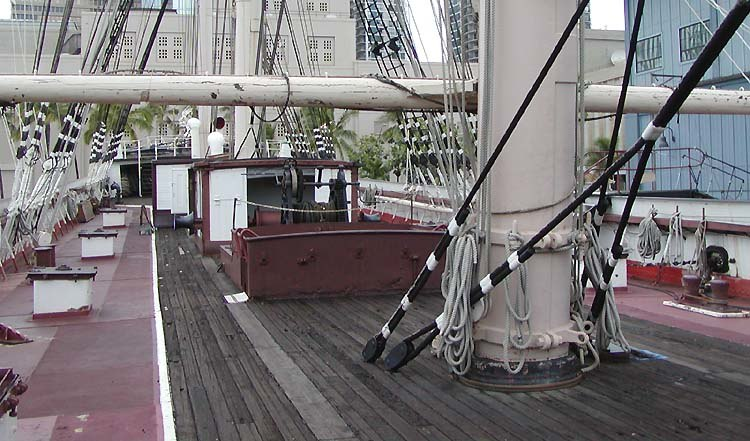 Falls of Clyde deck