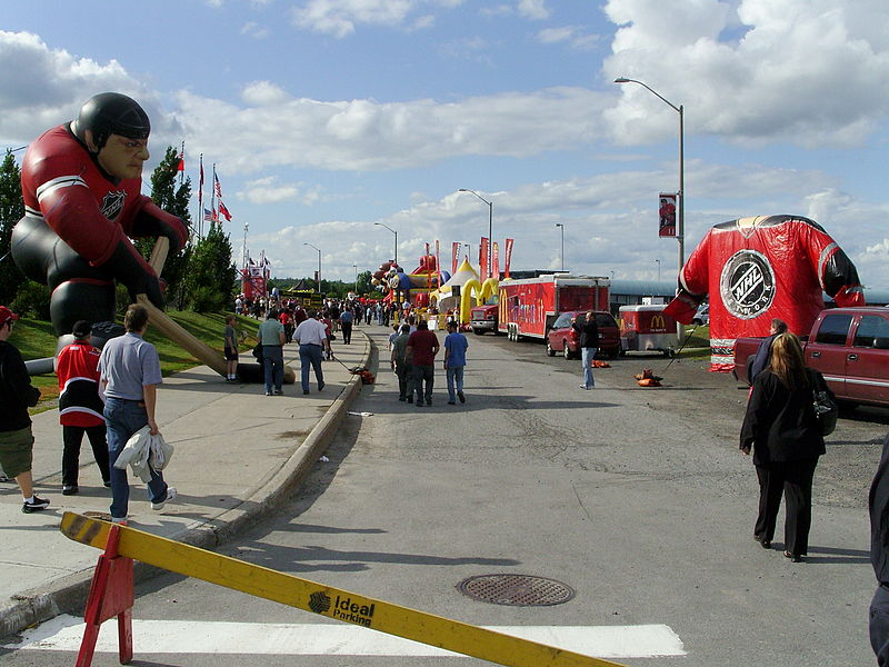 Fan Fest at 2008 NHL Draft.JPG