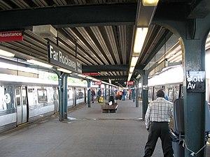 Far Rockaway–Mott Avenue (IND Rockaway Line) - Image: Far Rockaway IND Platform jeh