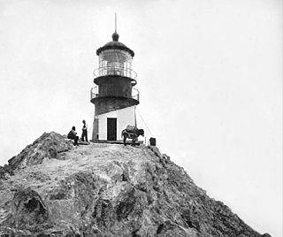 Farallon Island Light lighthouse in California, United States