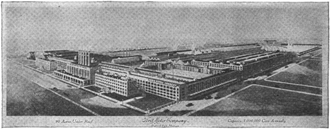 Highland Park Ford Plant - The Highland Park plant in 1922