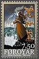 Faroe stamp 497 Djurhuus poems - min sorg.jpg