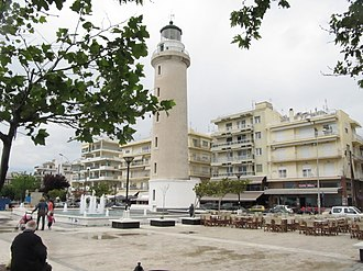 Alexandroupoli - The lighthouse of the city.