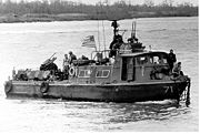 Fast Patrol Craft (Swift boat) slow