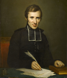 Abbé Félicité de Lamennais inspirierte Liszt. Porträt von Jean-Baptiste Paulin Guérin (Quelle: Wikimedia)