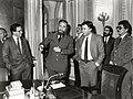 Felipe González junto a Fidel Castro, Daniel Ortega y Alfonso Guerra en el palacio de la Moncloa. Pool Moncloa. 16 de febrero de 1984.jpeg