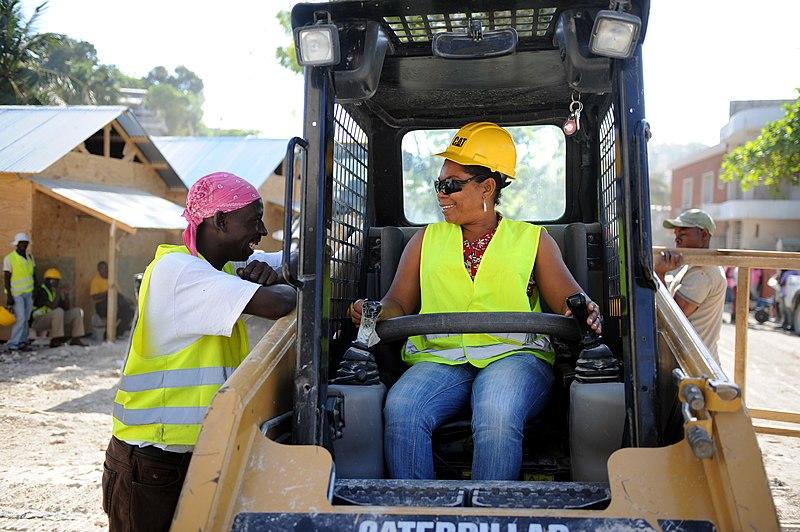 File:Female heavy equipment operator (5488981749).jpg