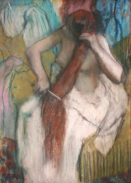 File:Femme se coiffant dEdgar Degas (Musée dOrsay) (3210104657).jpg