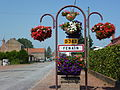 Fenain (Nord, Fr) city limit sign.JPG