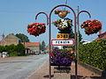 Fenain (Nord, Fr) city limit sign.JPG
