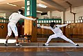 Fencing. Épée. A counter attack by the fencer Aris Koutsouflakis.jpg