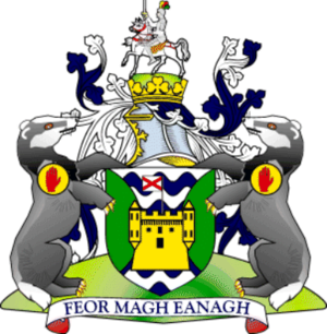 County Fermanagh - Image: Ferm arms