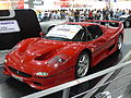 Ferrari F50 at the British International Motor Show 2006.jpg
