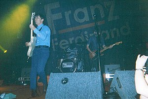 Franz Ferdinand (band) - The band performing in 2004.