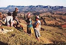 Contadini degli altopiani di Fianarantsoa