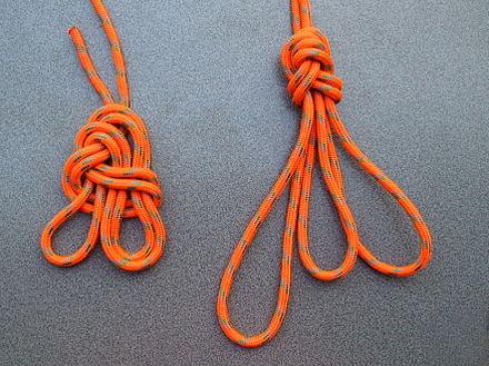 Klettergurt Selber Knoten : Achterknoten schlaufe wikiwand
