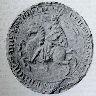 Philip of Spanheim - Seal of Philip of Sponheim
