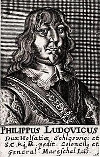 Philip Louis, Duke of Schleswig-Holstein-Sonderburg-Wiesenburg Duke of Schleswig-Holstein-Sonderburg-Wiesenburg