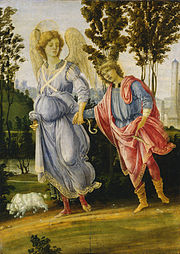 Tobias and the Angel, by Filippino Lippi