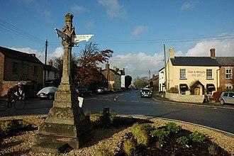 Eastington, Stroud - Image: Finger post, Eastington geograph.org.uk 1040959