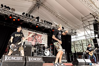 First Blood (band) American metallic hardcore band