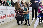 First Lady Melania Trump at a Toys for Tots Christmas Event (45565830184).jpg