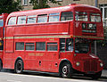 First London Routemaster bus RM1562 (562 CLT), heritage route 9, Kensington High Street, 27 August 2011 (2).jpg