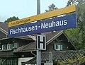 Fischhausen-Neuhaus, Haltestellenschild, 1.jpeg