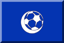 Flag blue HEX-0434B1 with White crescent and ball2.png