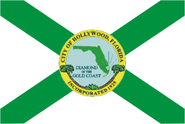 Flag of Hollywood, Florida