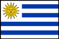 Flag of Uruguay. (bordered).PNG