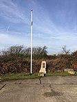 Flag staff and memorial RAF Fiskerton.jpg