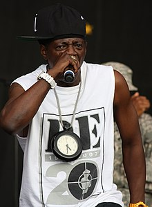 Flav performing at New Orleans Jazz Fest in 2014