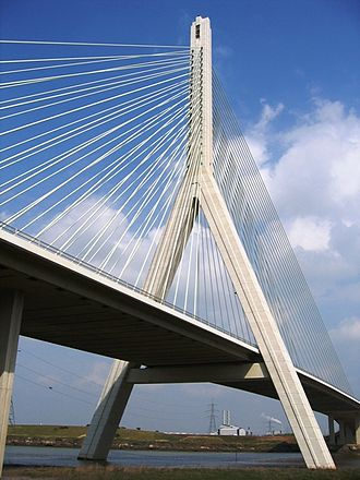 Deeside - Image: Flintshire bridge