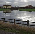 Flooded field, near Dunswell - geograph.org.uk - 662077.jpg