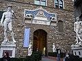 Florencja - Posąg Dawida przed Pałacem Vecchio - panoramio.jpg