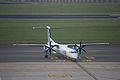 Flybe G-KKEV Dash 8 Q 400 Brussels Airport.jpg