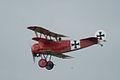 Fokker Dr.I Manfred Richthofen Last Pass 06 Dawn Patrol NMUSAF 26Sept09 (14599284512).jpg