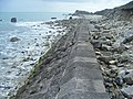 Folly Pier Waterworks Sea Wall, Portland, Dorset 2.jpg