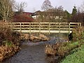 Footbridge over Luggie at Dalshannon - geograph.org.uk - 1613164.jpg