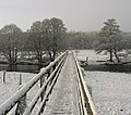 Footbridge over the Coquet between Holystone and Sharperton - geograph.org.uk - 97189.jpg