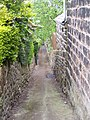 Footpath from Rural Lane, Wadsley, Sheffield - geograph.org.uk - 1114110.jpg