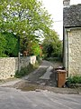 Footpath heading east from The Street - geograph.org.uk - 1570890.jpg